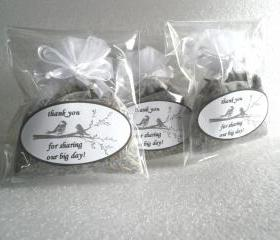 Organic Lavender Sachet Wedding Favors, invidually priced